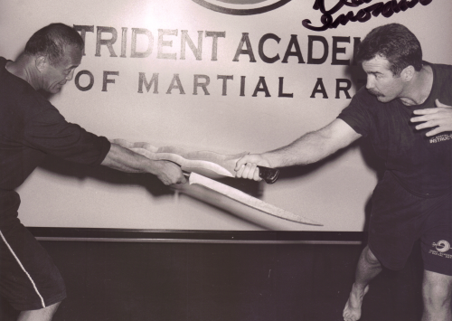 Dan Inosanto About Trident Martial Arts