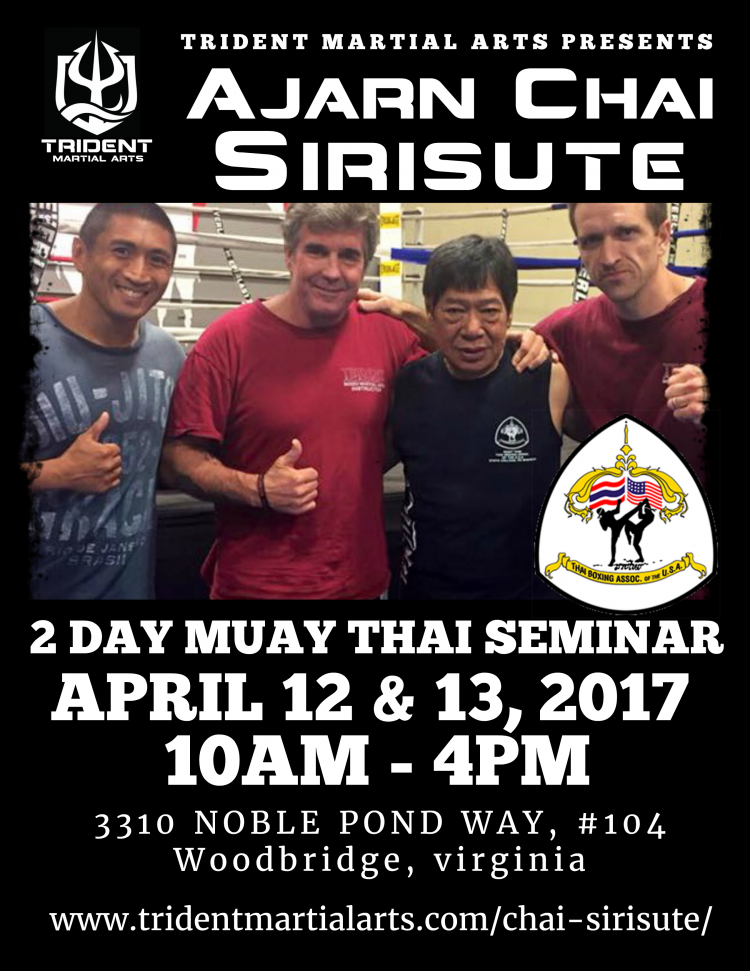 Grandmaster Chai Sirisute 2 Day Seminar 2017